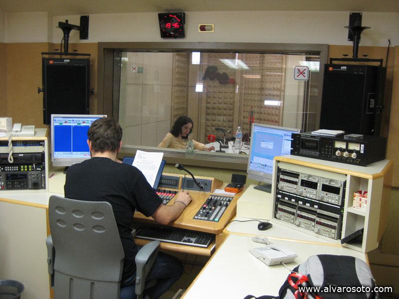 Antiguo estudio de grabación de 'Nómadas'