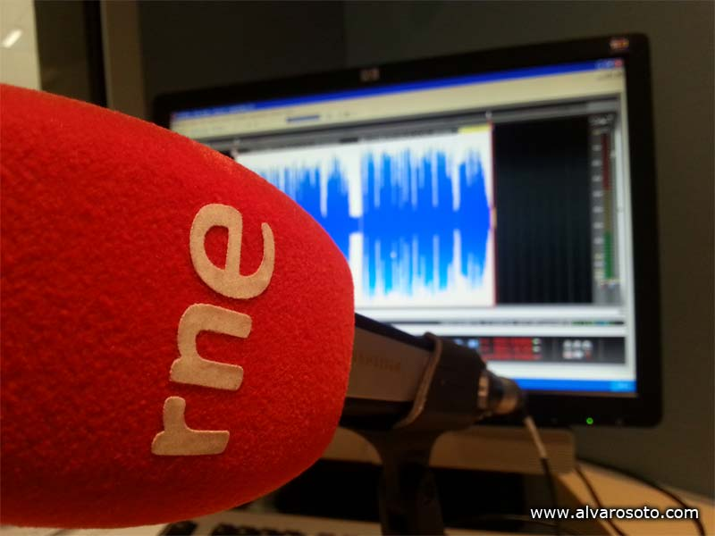 Micrófono de RNE