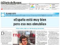 Entrevista en 'Diario de Burgos'