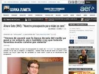 Entrevista en 'GorkaZumeta.com'