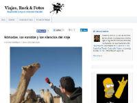 Entrevista en 'Viajes, rock & fotos'