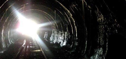Filtraciones en el túnel de Somosierra