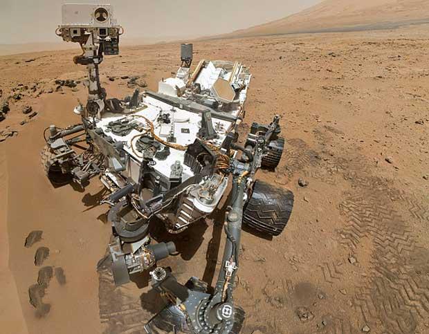 Autorretrato del rover Curiosity