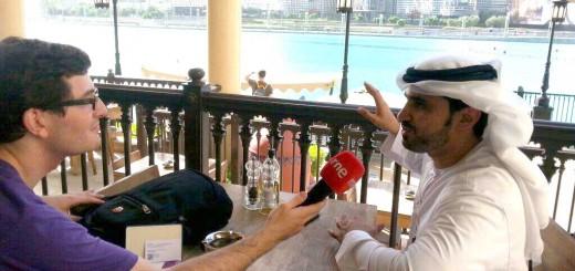Entrevista en Dubái