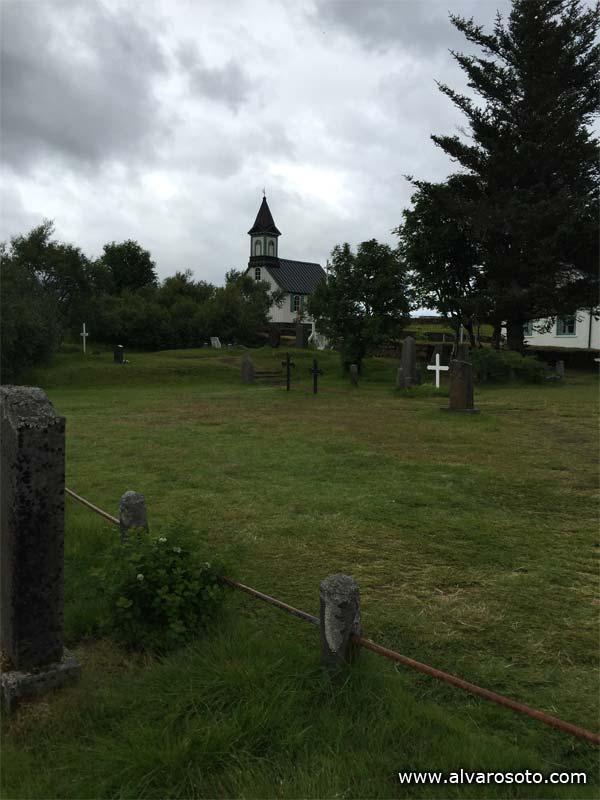 Primera iglesia de Islandia