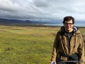 Junto al cañon de cañón de Rauðfeldar