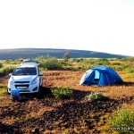 Acampada libre en Grenjaðarstaður