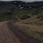 Puerto de montaña sin pavimentar en la 917