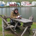 Un alto en Seyðisfjörður