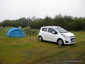 Zona de acampada de Skaftafell