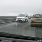 Atasco en el puente del Skeiðará