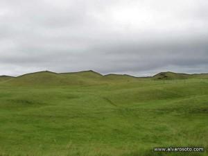 Falsos cráteres de Landsbrotshólar