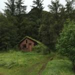 Antigua granja junto a Systrafoss