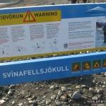 Panel de advertencias
