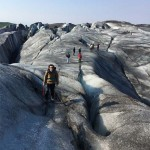 Caminando sobre el hielo