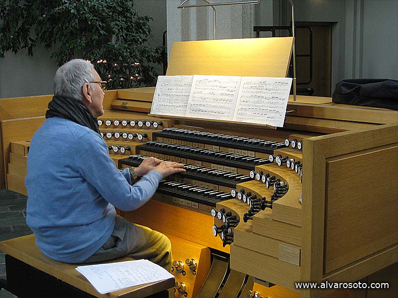 Organista de la Hallgrímskirkja