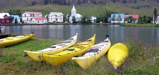 Canoas en Seyðisfjörður