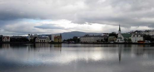 Tjörnin de Reykjavík