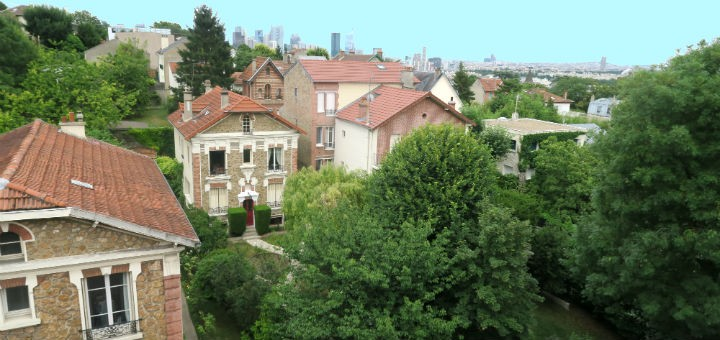 Vista parcial de Suresnes desde Mont Valérien