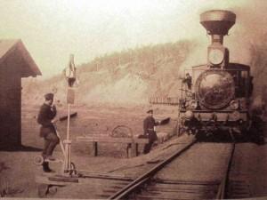 Estación de Khilok en 1903 – Foto: Parovoz.com