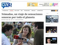 Entrevista en 'CUV3'