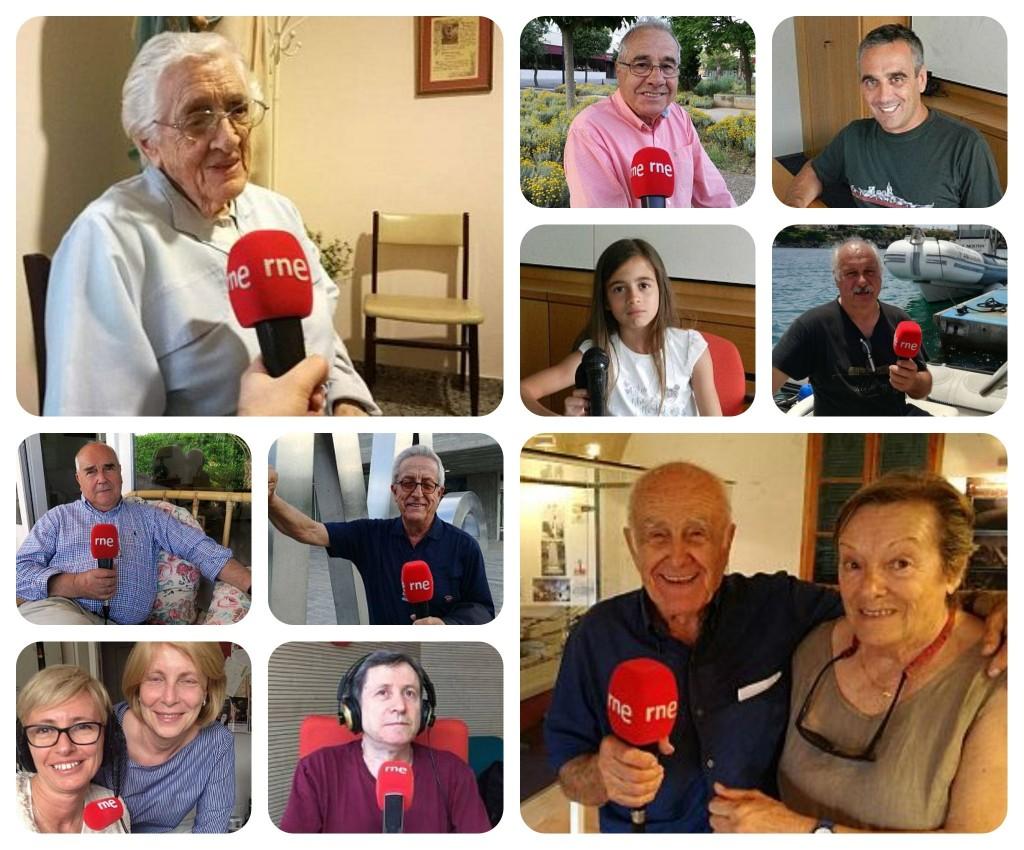 """Voces del documental radiofónico """"Los supervivientes del Roma: náufragos de guerra en Baleares"""""""